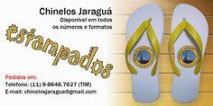 Chinelos Jaraguá estampados - www.facebook.com/chinelosjaragua