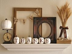 {Give Thanks} Mantel