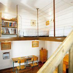 #mezzanine #loft  Marie-Claire-Maison