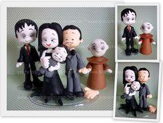 Família Addams by Biscuit da Pati, via Flickr