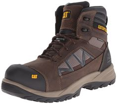 Caterpillar Men's Compressor Waterproof Comp Toe Work Boot >>> Amazing shoe product just a click away : Men's boots Caterpillar Shoes, Cool Boots, Men's Boots, Fashion Boots, Mens Fashion, Hiking Sneakers, Chelsea Boots, Hiking Boots, Footwear