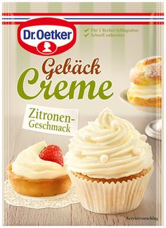 -in USA- Dr.Oetker Pastry Cream -LEMMON - Pack of 1