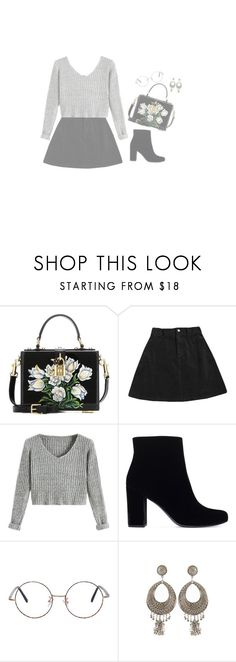 """can I be him // james arthur"" by peachmooon ❤ liked on Polyvore featuring Dolce&Gabbana and Yves Saint Laurent"