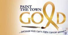 September is Childhood Cancer Awareness Month! www.gabydavisfoundation.com