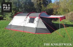 The Olpro Knightwick a 3 person High Specification Tunnel Tent Perfect for Couples small Families Festivals or Weekends away A great technical tent. Buy Tent, Rent A Tent, Tent Hire, Zion Camping, Backpacking Tent, Tent Camping, Campervan Awnings, Family Tent