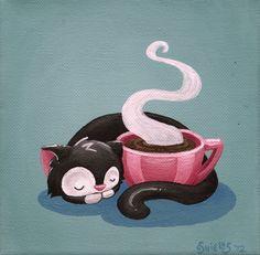 Cat Nap #coffee, #drinks, #pinsland, https://apps.facebook.com/yangutu