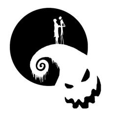 Nightmare Before Christmas Die Cut Vinyl Decal for Windows, Vehicle Windows, Vehicle Body Surfaces or just about any surface that is smooth and clean Cricut Vinyl, Vinyl Decals, Cricut Craft, Window Decals, Wall Stickers, Wall Decals, Wall Art, Vinyl Crafts, Vinyl Projects