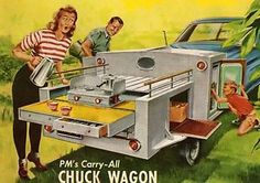 Wooden Camper Kitchen Box Plans | ... CHUCK-WAGON-TAIL-GATE-CAMPING-KITCHEN-PLAN-CAMP-TRAILER-/360480805688 Camping Hacks, Truck Camping, Diy Camping, Camping Ideas, Teardrop Trailer Plans, Teardrop Camping, Adventure Trailers, Expedition Trailer, Small Trailer