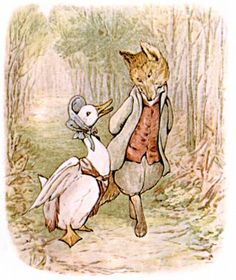 The original sandy-whiskered gentleman seduces flighty Jemima in this classic and well beloved tale by Beatrix Potter. Complete reading enjoyment with pictures!