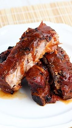 Simple, Easy BBQ Rib Recipe  Best easies ribs ever! BBQ after instated if before.
