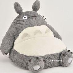New My Neighbor Totoro Big Single Sofa Chair Studio Ghibli Japan | eBay. I NEED THIS RIGHT NOW