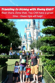 Are you planning to travel to Disney with young kids? We've got all the tips you need to make the trip a success!