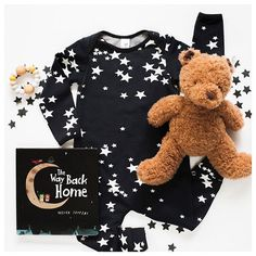 He and Her the Label baby clothing has arrived! Monochrome stars are just some one the amazing prints on offer now at Young Willow.
