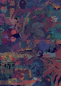 It's Nice That : Graphic Design: Boat Studio and Micah Lidberg's incredible album artwork for Glass Animals