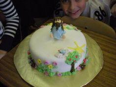 Jesus Cake for my Sunday School Class
