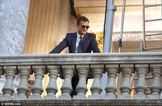 Cming soon: The Irish actor was amongst cast and crew as filming for Fifty Shades Of Grey sequel Fifty Shades freed shifted to locations in Nice