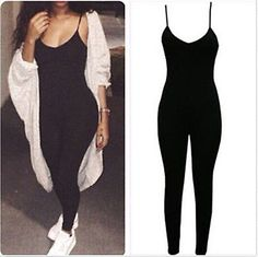 Sexy+one+piece+bodycon+jumpsuit now+trending!+get+the+look! this+chic+one+piece+bodycon+jumpsuit+is+so+comfy+yet+stylish+great+for+everyday+or+dress+it+up!