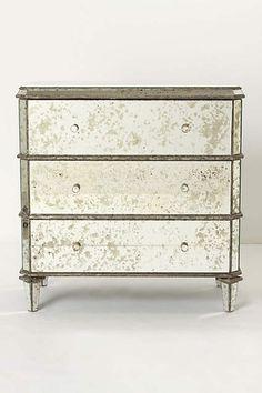 "$1038 Mirrored Dresser - anthropologie.com. 32""H, 32""W, 17""D"