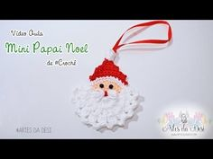 Crochet Santa Ornament - Design Peak
