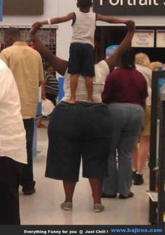 Oh Walmart.  23 funny pictures of people at walmart, hilarious.