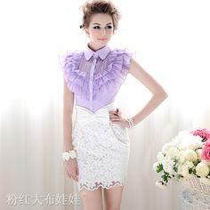16-8SUD-FREE-SHIPPING-WHOLEASE-2012-summer-white-embroidered-bow-high-waist-skirt-WOMEN-SKIRT.jpg (800×800)
