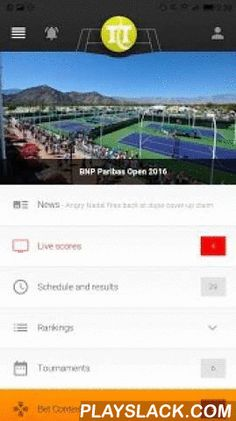 Tennis Temple Beta  Android App - playslack.com ,  THIS IS A BETA VERSION, IT CONTAINS NEW FEATURES BUT ALSO SOME BUGS.If you do not want bugs, please use the Stable version, thanks.You will find on TennisTemple:- The fastest live scores (ATP and WTA)- Our unique LIVE Rankings- ATP and WTA officials Rankings (up to date)- Our matches pages (head to head, rankings, and more)- Our players pages (results, ranking history, and more)- Everything about tournaments (prize list, draws, calendars…