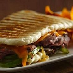 panini cheese steak panini press panini recipes panini sandwiches food ...