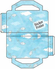 Kites in the Wind Sticker Folder