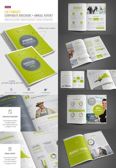 Brochure Template For Indesign Cingo  Magazyny X Okadki