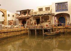 Port Royal, Nativity, Buildings, Universe, Scene, Shop, Model, Diy, Crafts