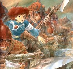 Studio Ghibli, Nausicaa of the Valley of the Wind, Nausicaa