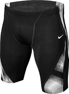 Nike Men's Beam Jammer (34, Black) Athletic Gear, Athletic Outfits, Sport Outfits, Sport Fashion, Mens Fashion, Swimming Gear, Lycra Men, Sweatshirt Makeover, Cycling Wear