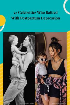 Here are celebrity moms who have been open about struggling with postpartum depression. It's a lot more common than people might think, and hopefully, these women sharing their stories will help others come forward and get the help they need. Postpartum Depression, Celebrity Moms, Maternity Fashion, Fitness Diet, Helping Others, The Help, Battle, Pregnancy, Exercise