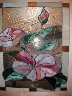 Hibiscus - Delphi Stained Glass