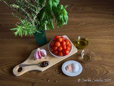 Tomates Cherry Confitados   Mise en Place