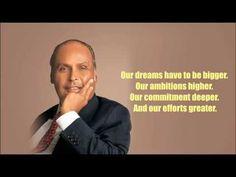 धीरूभाई अंबानी के सर्वश्रेष्ठ विचार - Dhirubhai Ambani Quotes Thoughts In Hindi, Good Thoughts, Dhirubhai Ambani, Ambition, Effort, Memes, Quotes, Youtube, Om