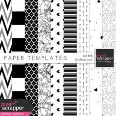 Paper Templates Kit #38
