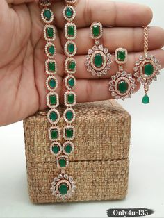 Anniversary Present for Wife,Affordable String of Real Emerald Beads,Wedding Gift,Natural Untreated Emerald Necklace,Mom/'s Birthday Jewelry