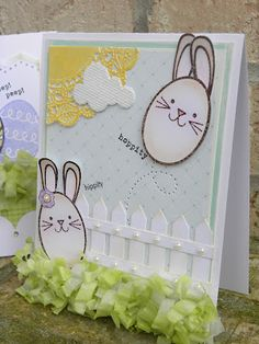 Paper Wishes: Spring is on its way!!!  Genius hoppity!