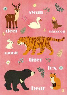알록달록 동물포스터   http://blog.naver.com/gogokoala ⓒ gogokoala