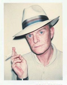 Andy Warhol Polaroids- Truman Capote