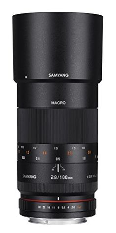 Samyang 100mm F2.8 ED UMC Full Frame Telephoto Macro Lens with Built-in AE Chip for Nikon Digital SLR Cameras -- Read more  at the image link.
