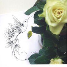 Tiny Bird Tattoos, Flower Tattoo Drawings, Dainty Tattoos, Flower Tattoos, Small Tattoos, Dope Tattoos, Side Hip Tattoos, Leg Tattoos, Body Art Tattoos