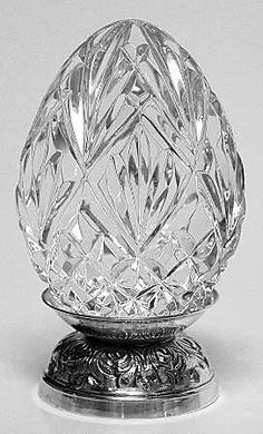 Waterford crystal Easter egg