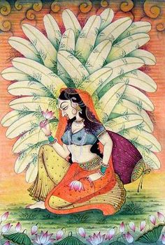 Indian painting, papayaart blog