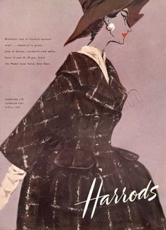 1958 Harrods Fashion