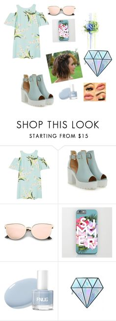 """My spring in the light"" by glamorpeace ❤ liked on Polyvore featuring MANGO and Unicorn Lashes"