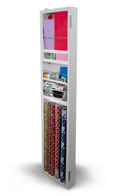 Cabidor Classic Storage Cabinet (behind-the-door wall cabinet space - portable and installs in minutes)