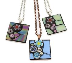 Hand Cut Mosaic Jewelry by Angela Ibbs Designs - The Beading Gem's Journal