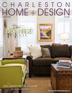 Charleston Home + Design Magazine - Summer 2014 | Design magazine ...
